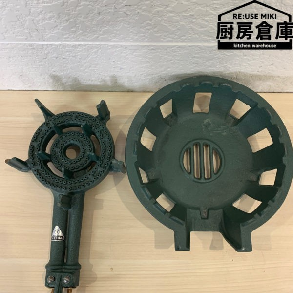 【未使用品】鋳物コンロ TS-210 都市ガス用_画像1
