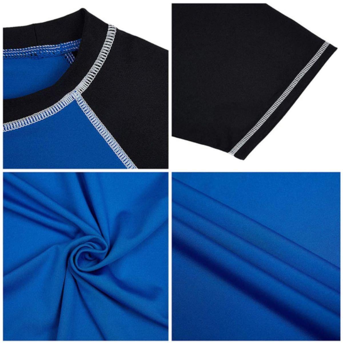 トレーニング Tシャツ メンズ レーニングウェア 半袖 フィットネス スポーツ ランニングウェア 半袖Tシャツ