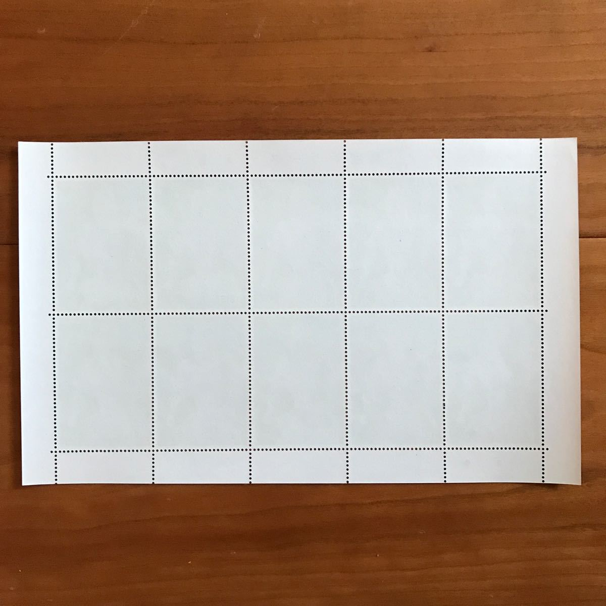 【切手シート】国宝シリーズ 第1集 執金剛神立像 大蔵省印刷局製造