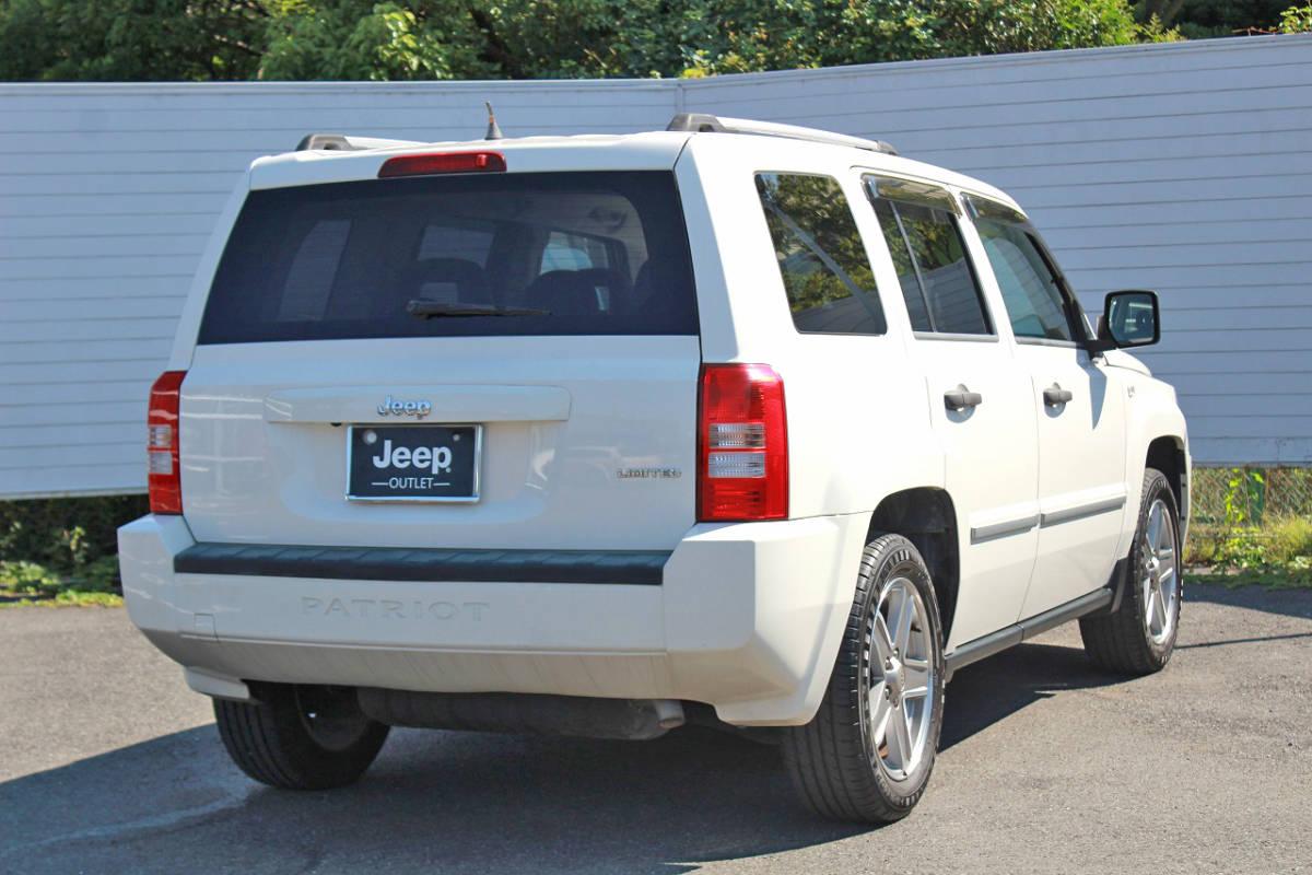 「Jeep/パトリオット/ジープ/MK74/リミテッド/平成20年/レザーシート/シートヒーター/ナビ/バックカメラ/ETC/現状販売特別価格/現車確認歓迎」の画像2