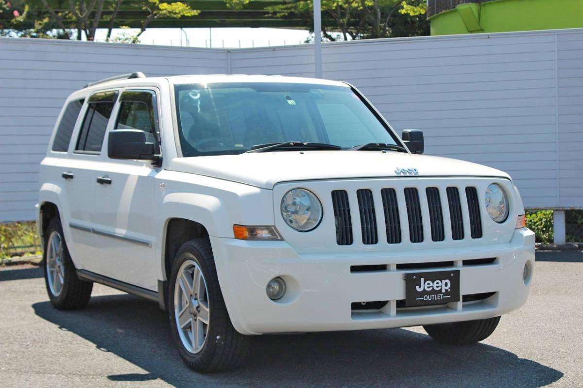 「Jeep/パトリオット/ジープ/MK74/リミテッド/平成20年/レザーシート/シートヒーター/ナビ/バックカメラ/ETC/現状販売特別価格/現車確認歓迎」の画像3