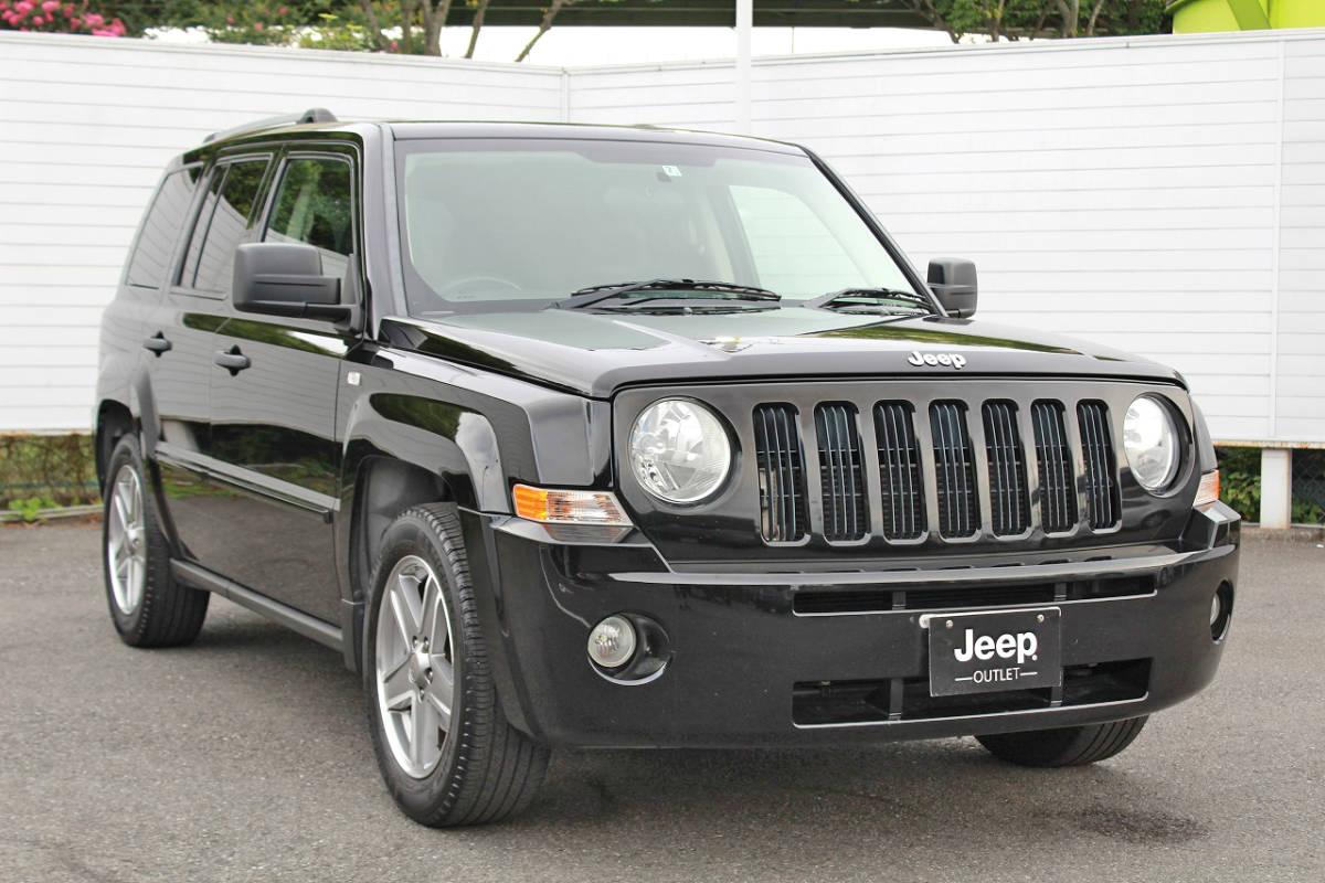 「Jeep/パトリオット/MK74/ジープ/リミテッド/4WD/平成19年/サンルーフ/レザーシート/シートヒーター/ETC/現状販売特別価格/現車確認歓迎」の画像3