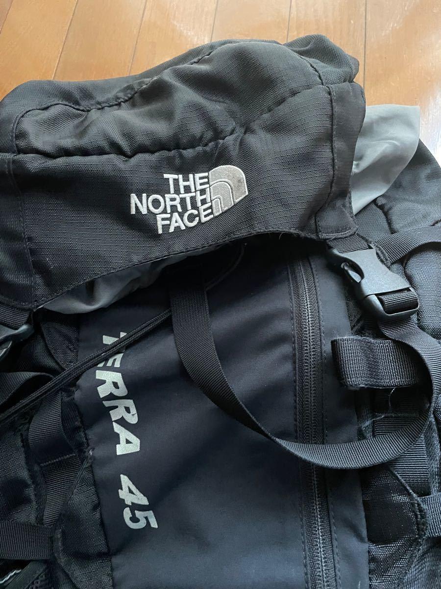 THE NORTH FACE ザ・ノース・フェイス バックパック 45L ブラック リュック 旅行 キャンプ 登山 ノースフェイス