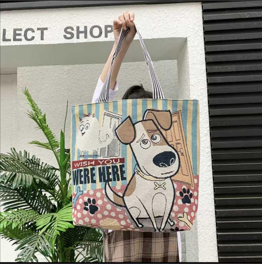 トートバッグ 女の子キャンバスバッグ レディース ショルダーバッグ エコバッグ 可愛い 新商品