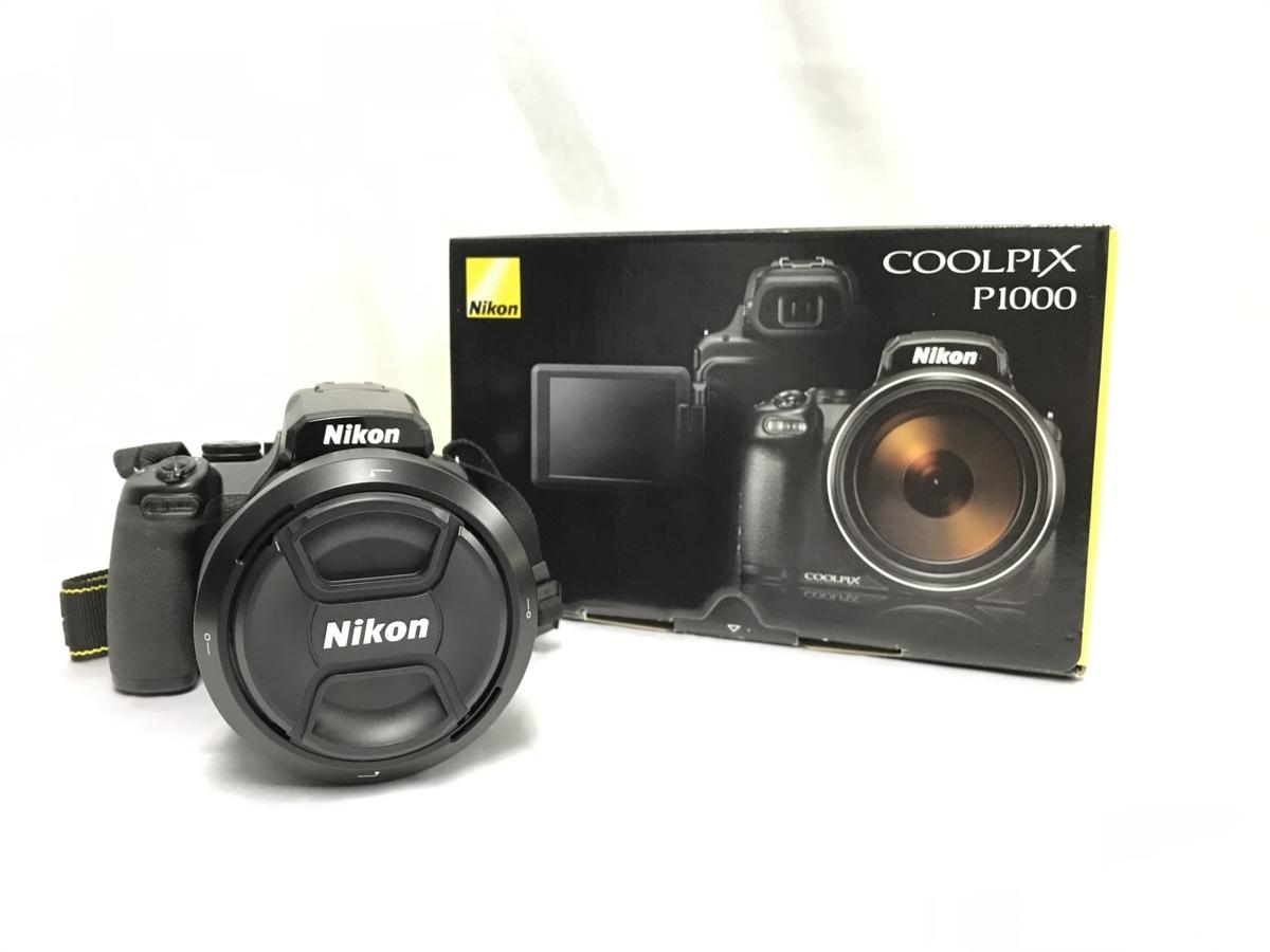 ★Nikon ニコン デジタル カメラ COOLPIX P1000 ブラック 中古 1円スタート★