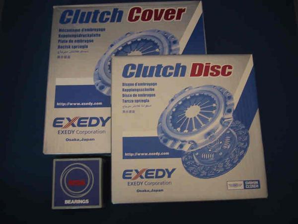 Titan WG WH clutch 3 point set Exedy TM01-16-410A YM-01-16-460C