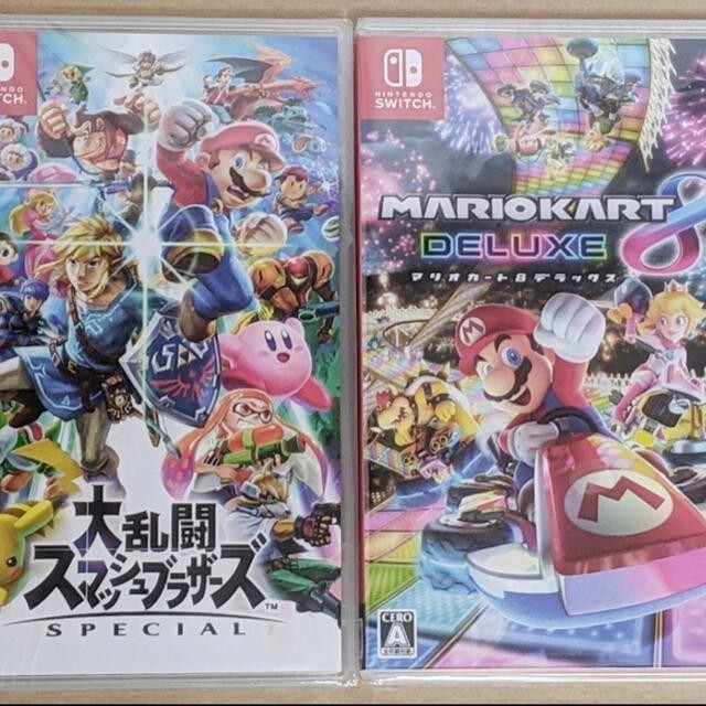 Nintendo Switch マリオカート8デラックス+大乱闘スマッシュブラザーズ