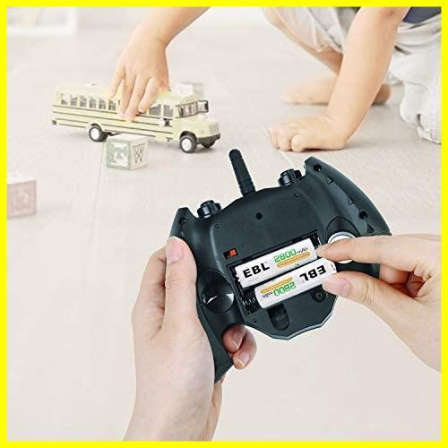 EBL 単4形充電池 充電式ニッケル水素電池 高容量1100mAh 8本入り 約1200回使用可能 ケース2個付き 単四充電池_画像8