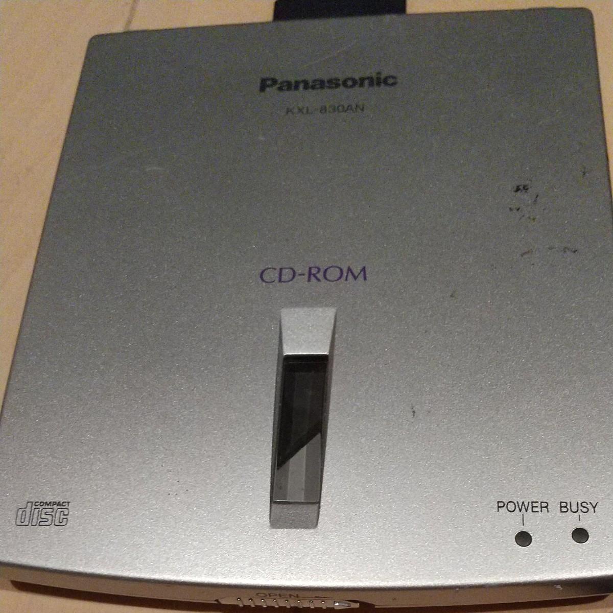 Panasonic ポータブルCD-ROMドライブ