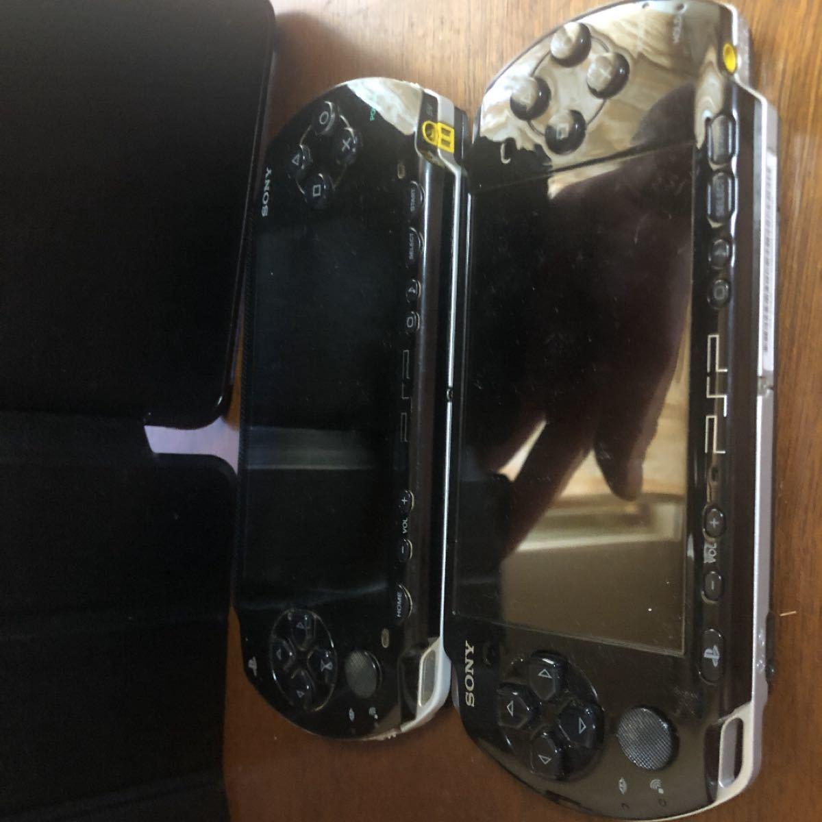 PSP3000番と1000番 ソフト大量セット PSP PSP本体 SONY