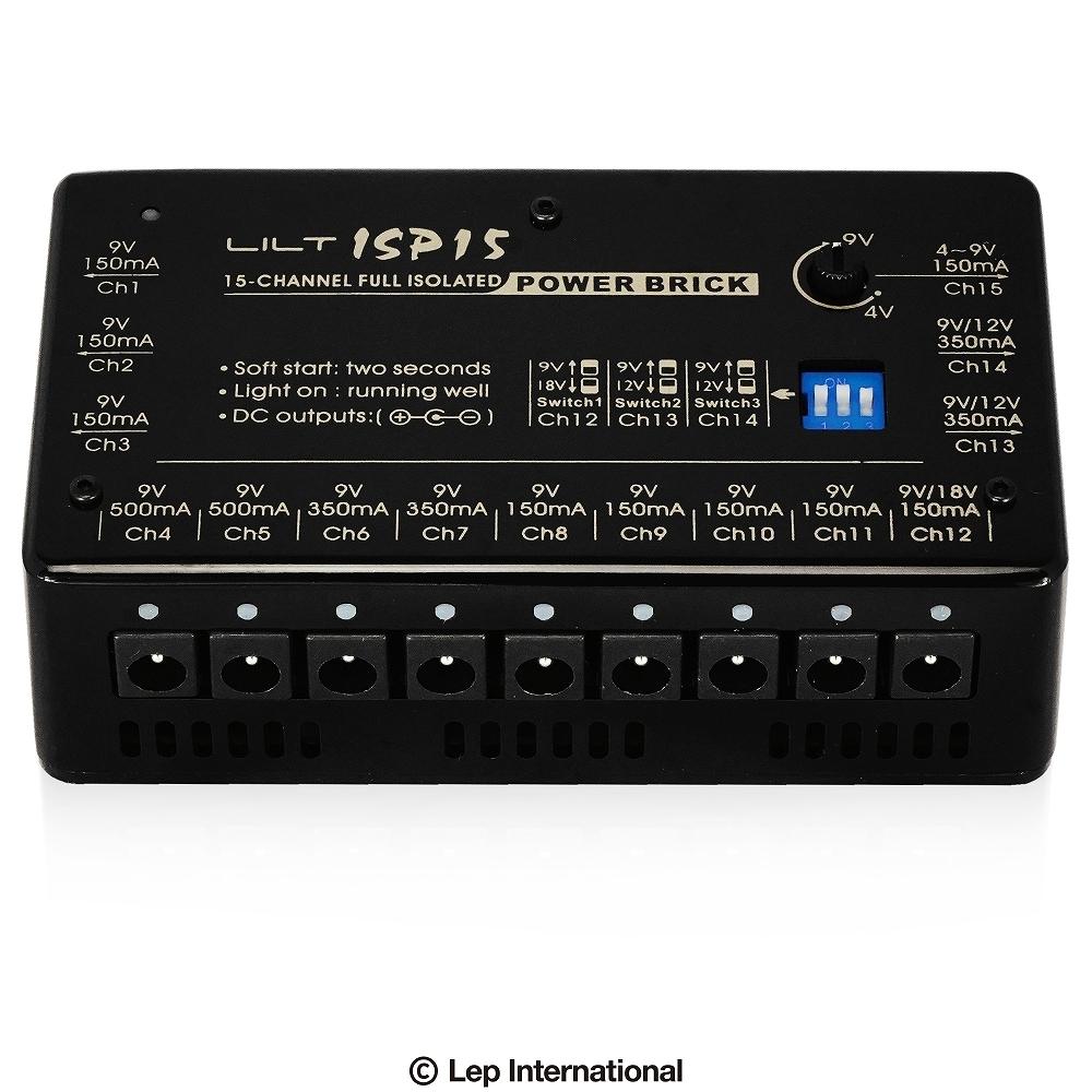 最落無し!LILT ISP15 / a35877 それぞれの出力が個別に独立した、完全独立型のパワーサプライ。 1円_画像1