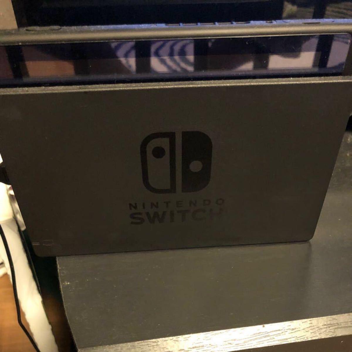 Switch本体 モンスターハンターライズソフト 保護シール&ケース付き