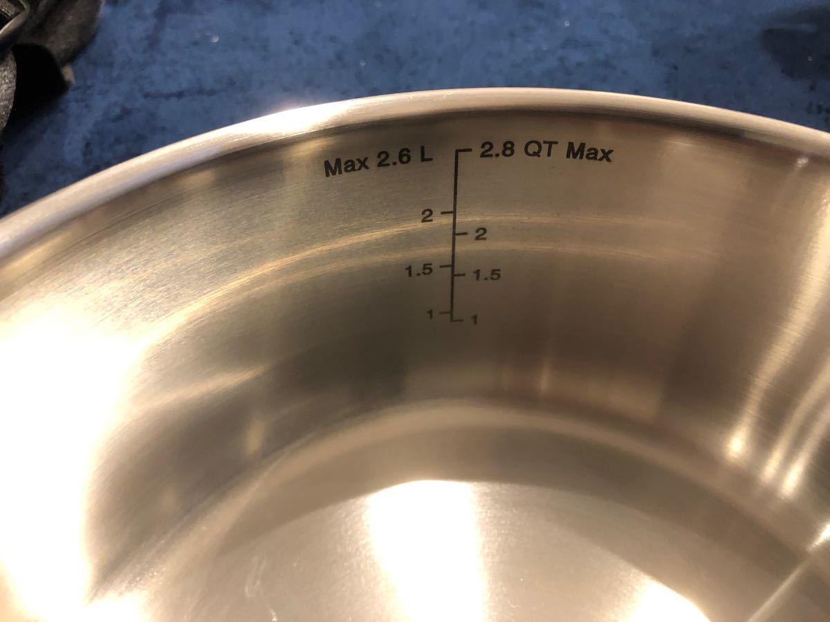 T-fal ティファール インジニオネオ IH ステンレス エクセレンス ソースパン20cm(ガラス蓋、シールリッド)