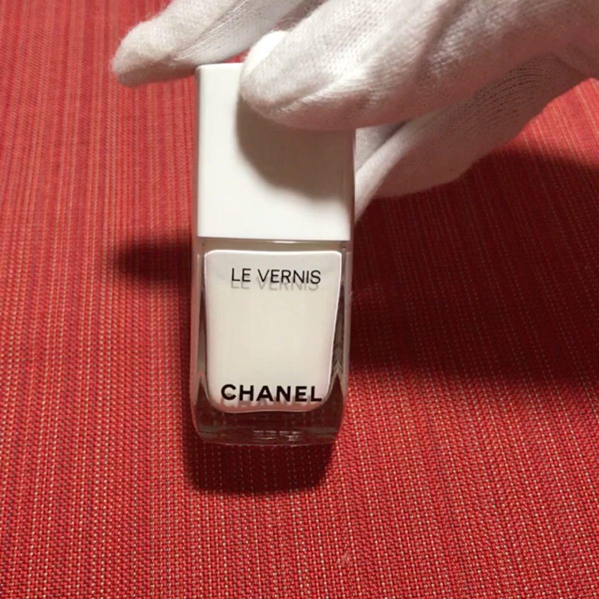 CHANEL シャネル ヴェル二 ロング トゥニュ 711 ピュア ホワイト (白) 限定品 ※中古品です