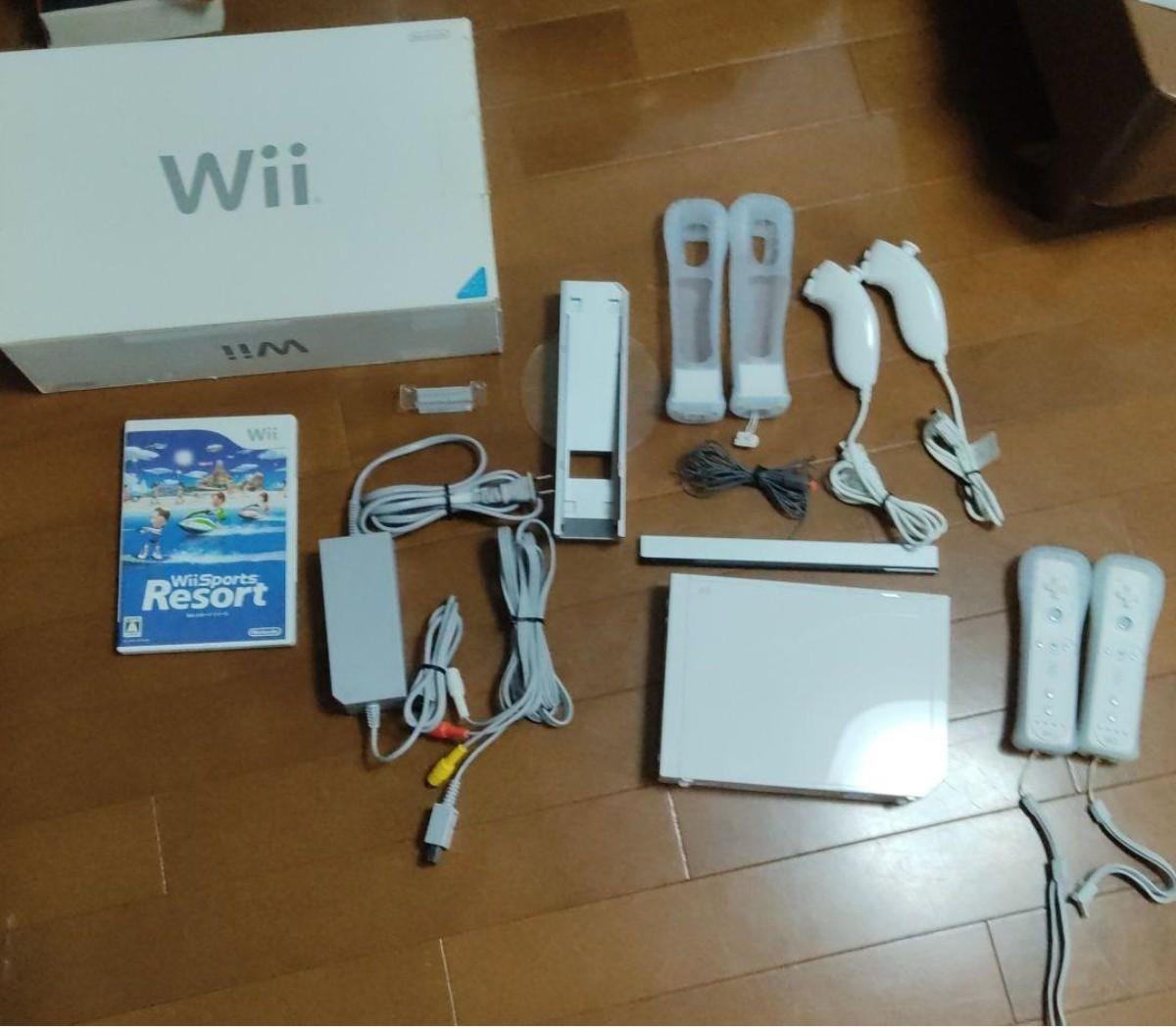 Nintendo Wii RVL-S-WD  Wii 任天堂 ニンテンドー Wii 任天堂Wii