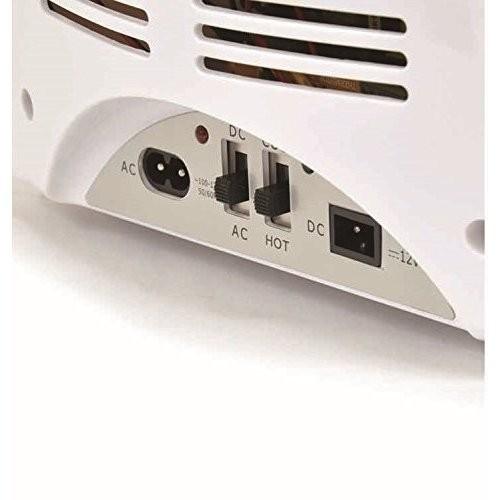 ポータブル 保冷温庫 8L ホワイト AC DC 2電源式 小型 冷温庫 保冷 保温 部屋用 温冷庫 冷蔵庫 車載 キャンプ 8リットル 送料無料_画像5