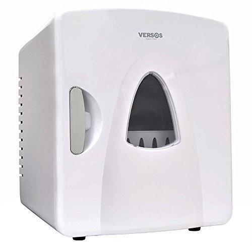 ポータブル 保冷温庫 8L ホワイト AC DC 2電源式 小型 冷温庫 保冷 保温 部屋用 温冷庫 冷蔵庫 車載 キャンプ 8リットル 送料無料_画像1