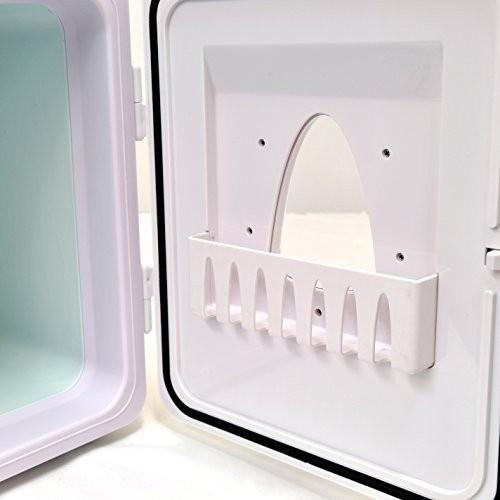 ポータブル 保冷温庫 8L ホワイト AC DC 2電源式 小型 冷温庫 保冷 保温 部屋用 温冷庫 冷蔵庫 車載 キャンプ 8リットル 送料無料_画像7