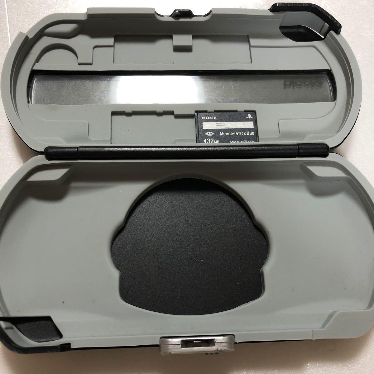 PSP専用ケースとメモリースティック(中古品)   /SONY/プレイステーションポータブル/メモリスティック/