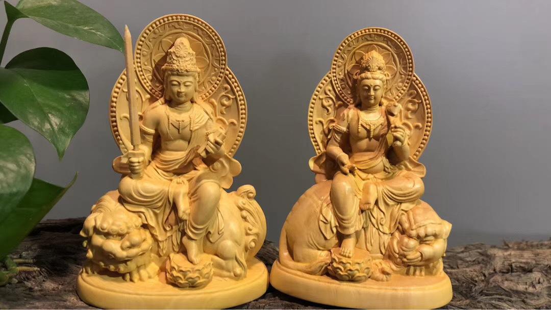 【極上の木彫】最高級品 仏教工芸品 木彫仏教 精密彫刻 極上品 仏師で仕上げ品 MD245