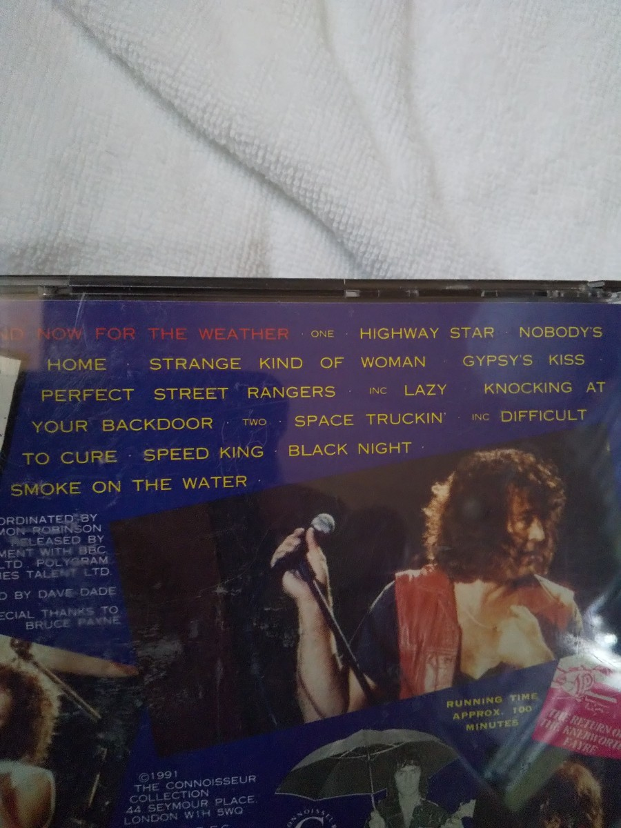 ディープ・パープル 1985年6月22日 イギリス ネブワース公演 輸入盤