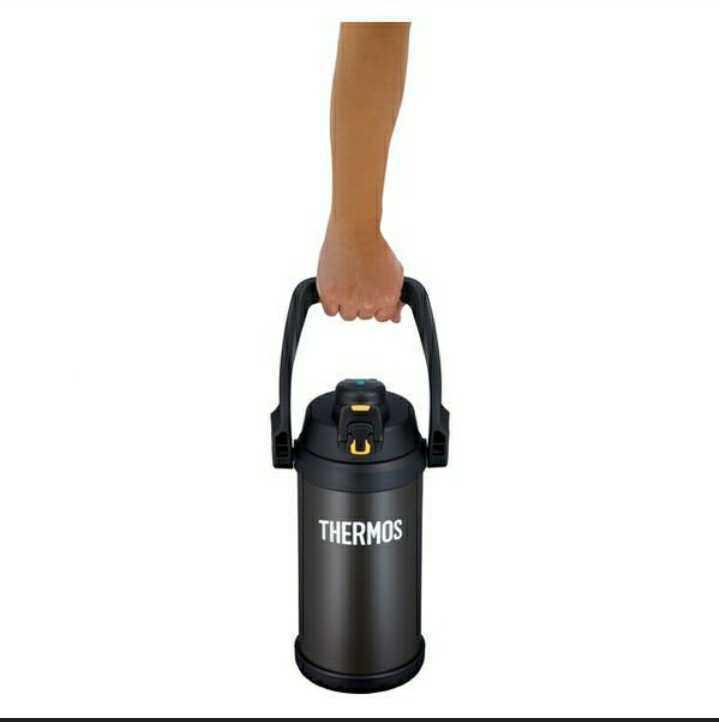 新品★サーモス(THERMOS) 水筒 真空断熱スポーツジャグ 大容量 2000ml ブラックオレンジ FFV-2001 BKOR ECO 格安