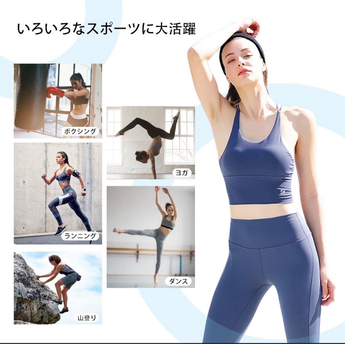 トレーニングウェア ジム ヨガ ダンス ランニング トップス sexy 3色