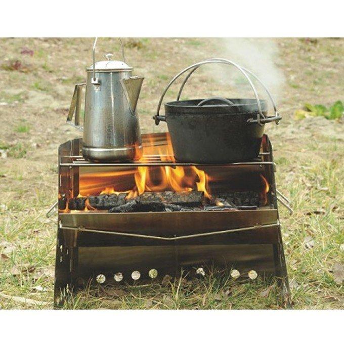 ★☆ ユニフレーム 薪グリル レギュラー 焚き火台 かまど UNIFLAME☆★_イメージです、実際は未開封です