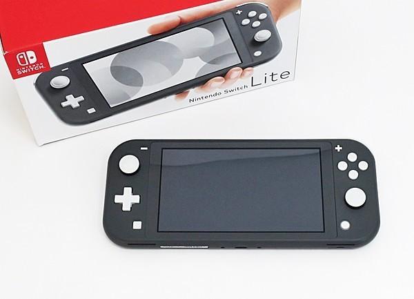 ◇【任天堂】Nintendo Switch Lite/ニンテンドースイッチライト本体 HDH-S-GAZAA グレー_画像1