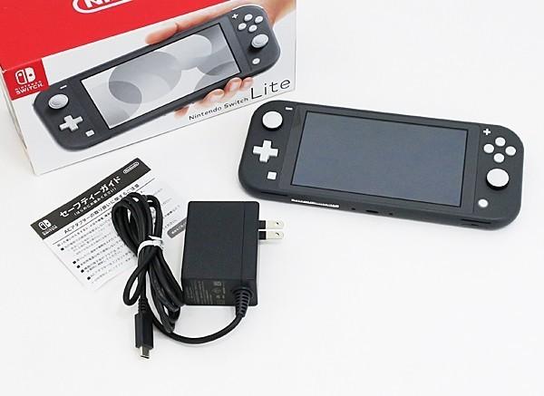 ◇【任天堂】Nintendo Switch Lite/ニンテンドースイッチライト本体 HDH-S-GAZAA グレー_画像7