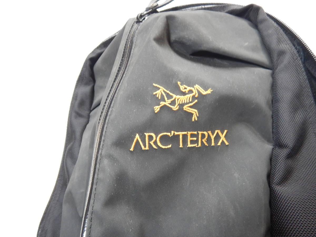 アークテリクス ARC'TERYX アロー22 リュック バックパック ザック ブラック_画像2