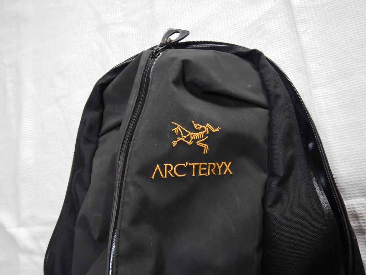 アークテリクス ARC'TERYX アロー22 リュック バックパック ザック ブラック_画像3