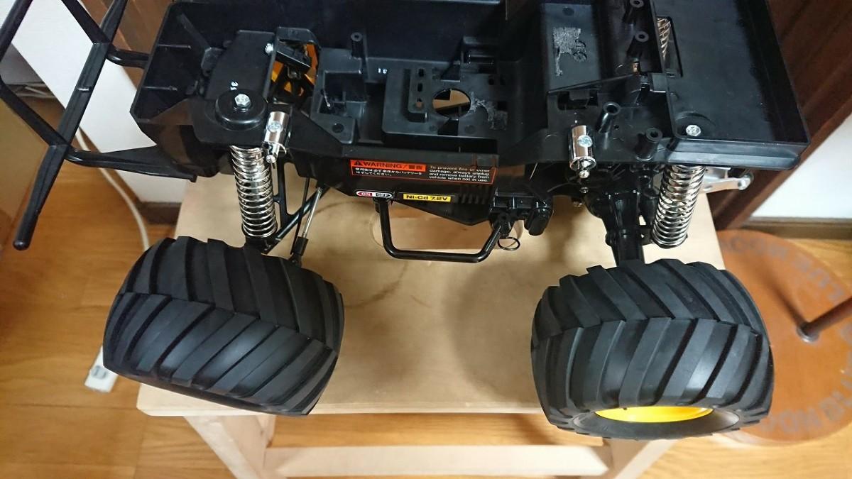 ⑪ ブロックタイヤ タミヤ ランチボックス フルベアリング XBシリーズ 完成品 未使用新品 ラジコン