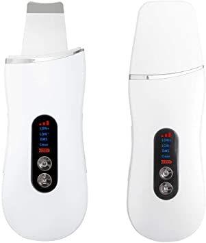 白 SLOTRE ウォーターピーリング 美顔器 超音波 ピーリング イオン導入 イオン導出 黒ずみ ケア EMS 毛穴 角栓 角_画像1