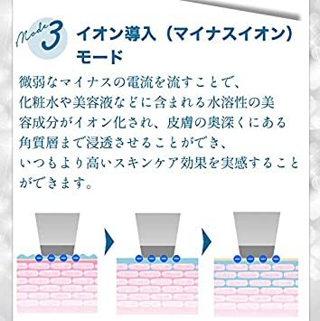 白 SLOTRE ウォーターピーリング 美顔器 超音波 ピーリング イオン導入 イオン導出 黒ずみ ケア EMS 毛穴 角栓 角_画像5