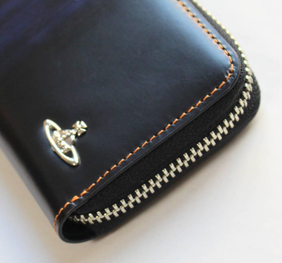 《Vivienne Westwood ヴィヴィアンウエストウッド》新品 チェーン付レザーコインケース 小銭入れ ギフトBOX付き プレゼントにも A4500