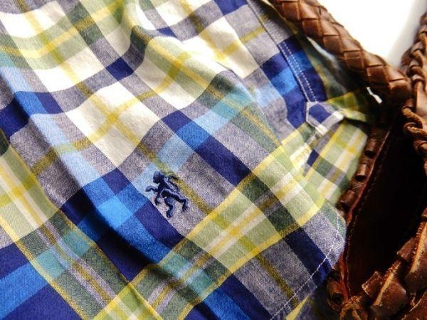 ビームス取り扱い♪ジムフレックス Gymphlex 上質コットン100%大人可愛ワンポイント刺繍フレンチスリーブゆったりプルオーバー♪_画像6