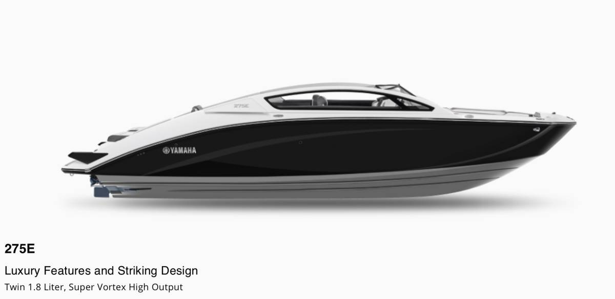 「※残艇数極少※ 新着情報!! 2022年モデル YAMAHA275E スポーツボート消費税込みの特別早期契約価格!!」の画像1