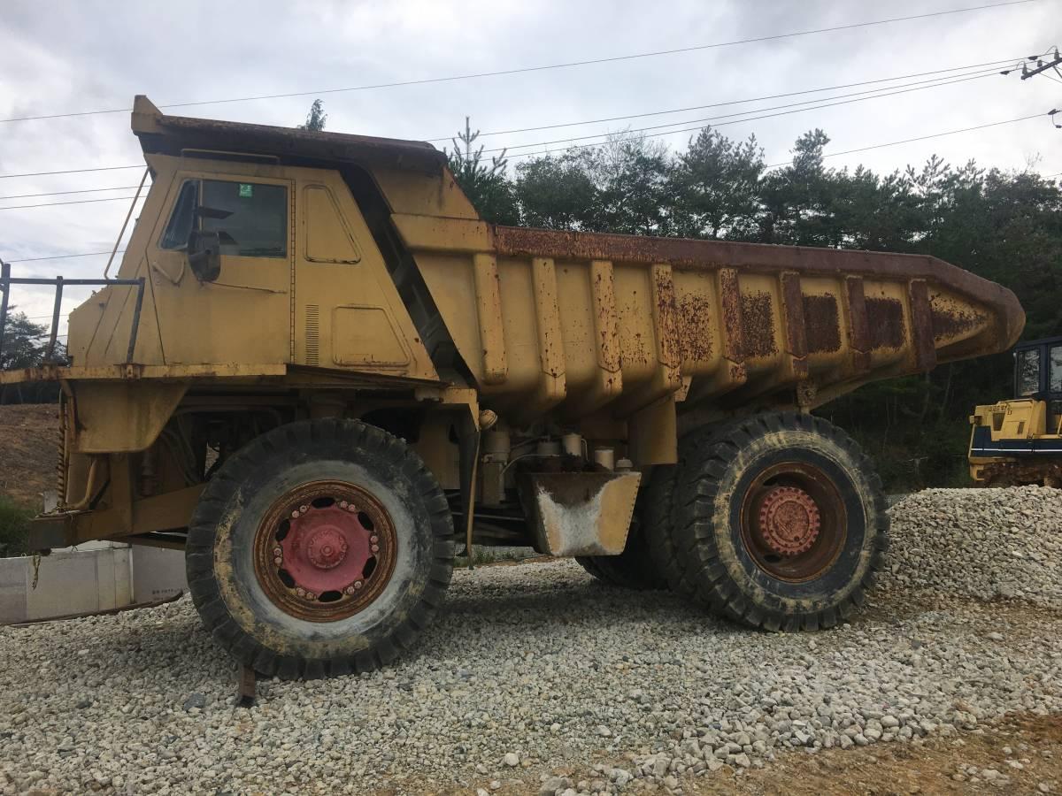 「ビッグダンプ 重ダンプ トラック キャタピラー CAT769C 多分2000年 調子良好 現役で今も作業中 運ぶトラックは紹介できます」の画像2