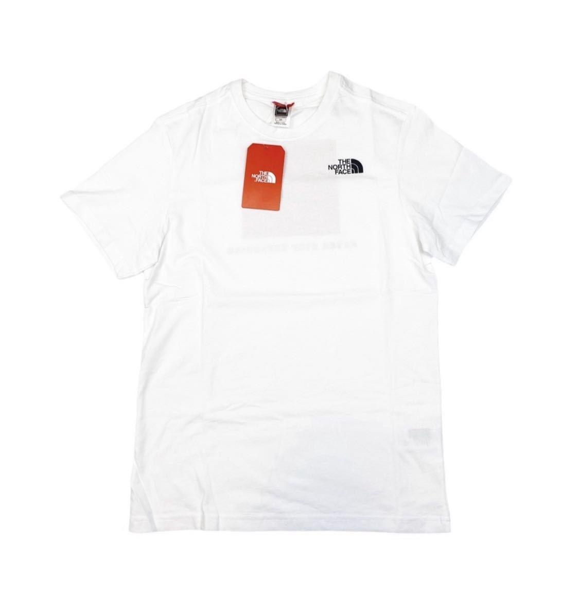 ザ ノースフェイス Tシャツ レッドボックス 半袖 NF0A2TX2 ロゴ バックロゴ ホワイト Mサイズ THE NORTH FACE SS RED BOX TEE 新品