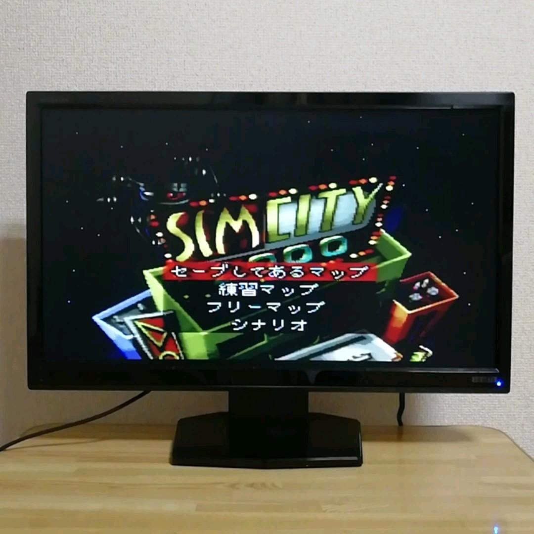 【電池交換済】シムシティ2000 スーパーファミコン SFC