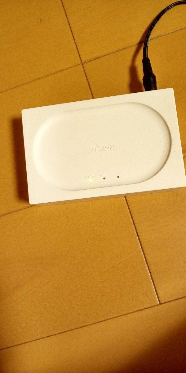 wi-fi ルーター 無線LAN ルーター  NEC ATERM WR8166N white