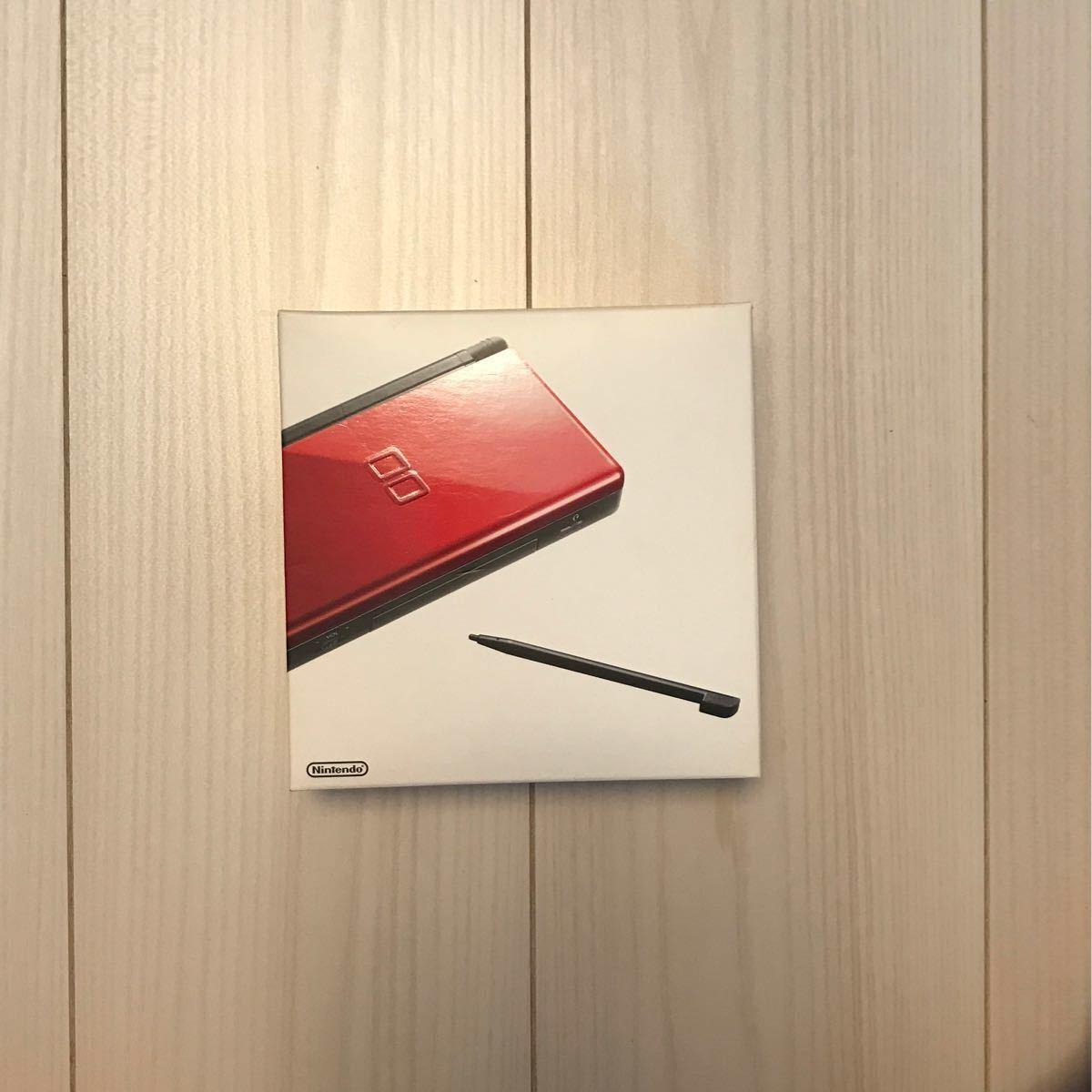 「動作確認済み」ニンテンドーDS lite (箱・付属品・充電器付) クリムゾン×ブラック