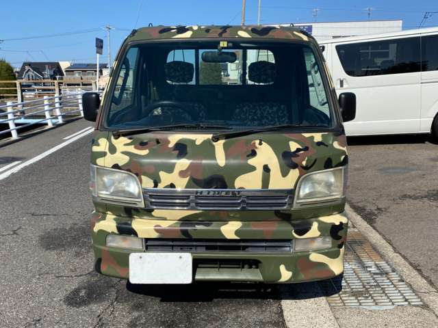 「【愛知県小牧市】 ハイゼットトラック エクストラ 3方開 4WD /迷彩カラーオールP/@車選びドットコム」の画像2