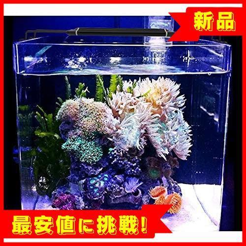 【新品最安値!】30CM 40CM スライド式 2つの照明モード 24LED 12W K839 水槽照明 45CM水槽対応 熱帯魚ライト LED アクアリウムライト_画像7