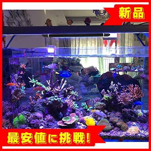 【新品最安値!】30CM 40CM スライド式 2つの照明モード 24LED 12W K839 水槽照明 45CM水槽対応 熱帯魚ライト LED アクアリウムライト_画像6