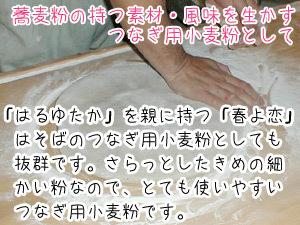 北海道産強力粉 春よ恋900g(春よ恋100%)蕎麦打ち つなぎ用小麦粉 製パン用小麦粉 そば打ちつなぎ用こむぎこ メール便対応_画像10