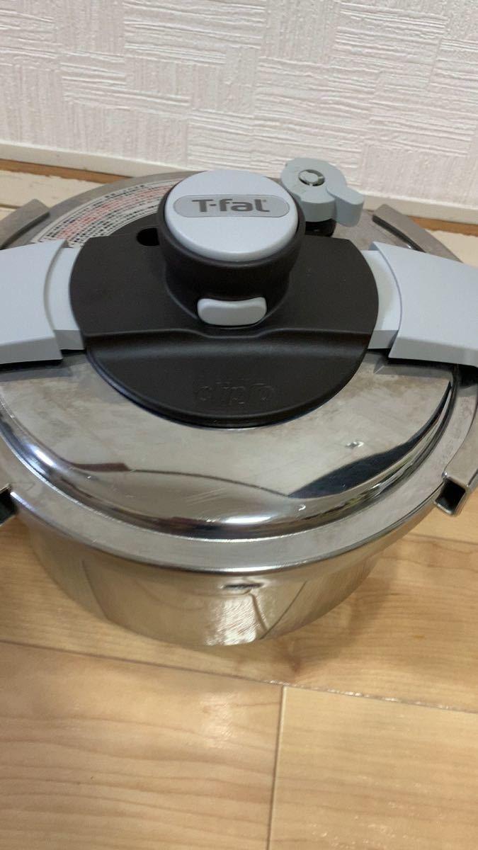 T-fal 圧力鍋 4.5L クリプソクレール