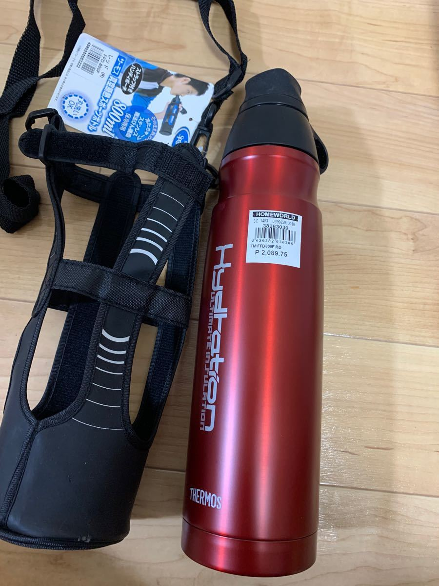 サーモス THERMOS FFD800F(R) [真空断熱スポーツボトル (0.8L) レッド]