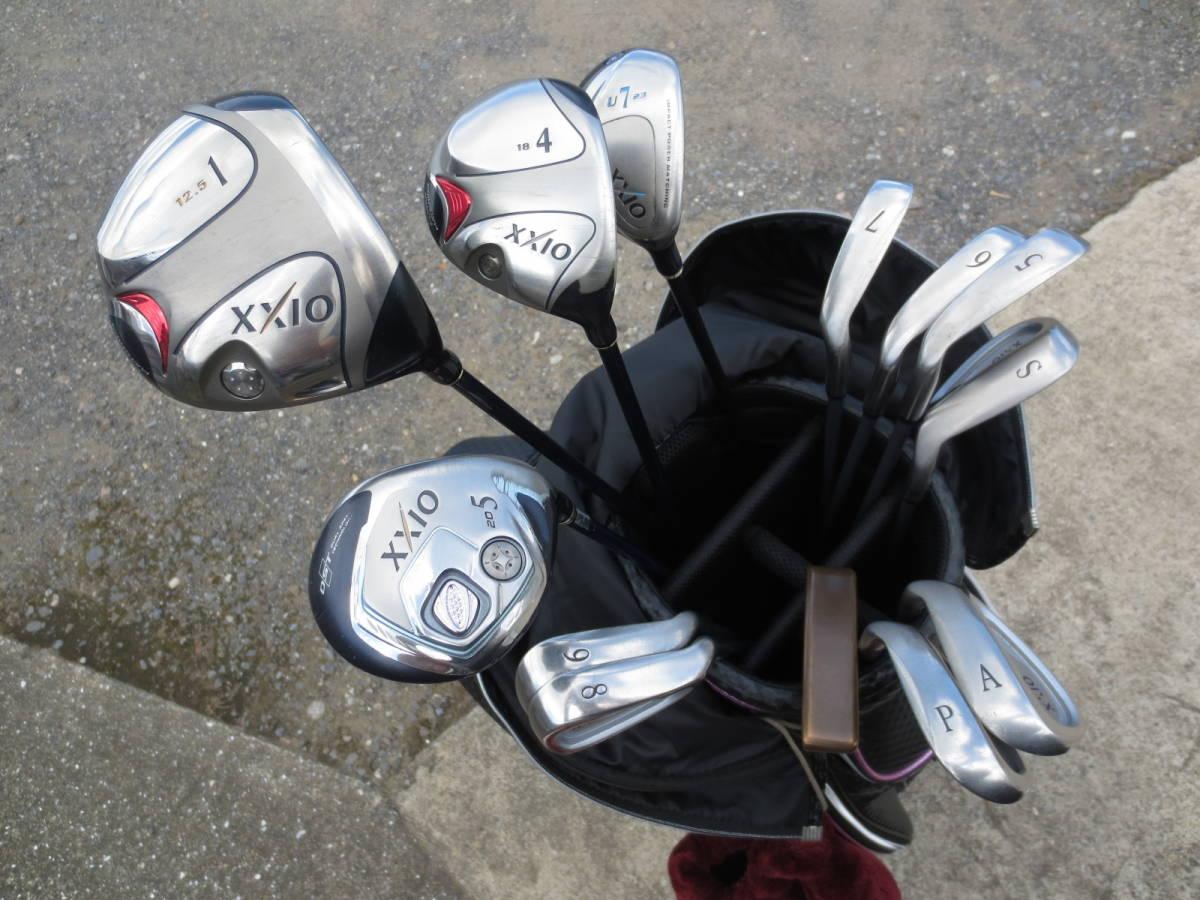 【レディースゴルフクラブセット】XXIO・ゼクシオ/PING・ピン (1W.4W.5W.U7.5.6.7.8.9.S.P.A.パター) FLEX(L.A) 13本セット